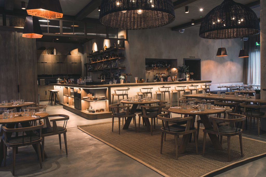 Italian Restaurant London Shoreditch Interior